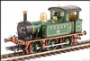Hattons H4-P-001 SECR P Class 0-6-0T 178 in SE&CR full lined green (with brass